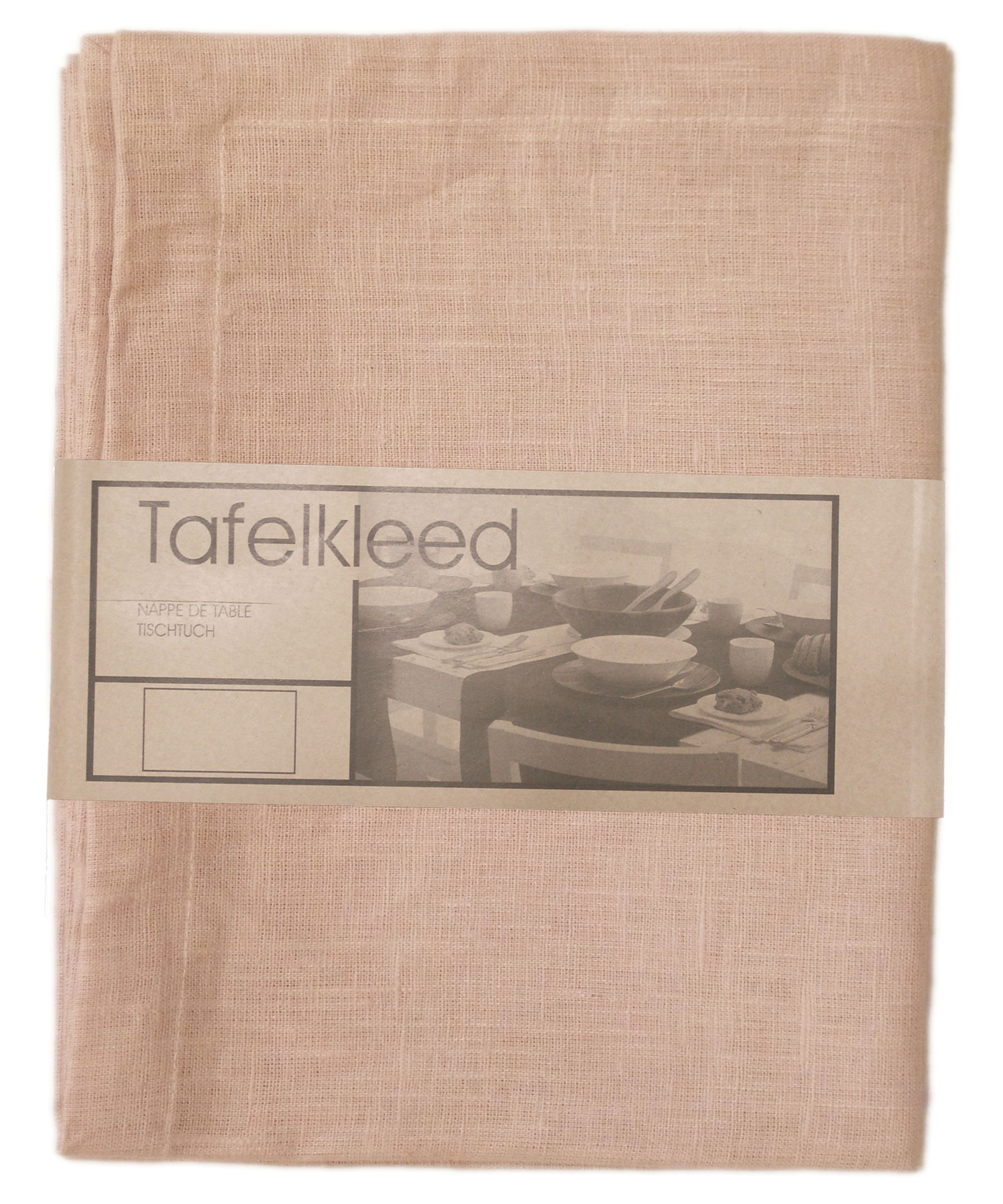 Tafelkleed Linnen 150x250cm roze