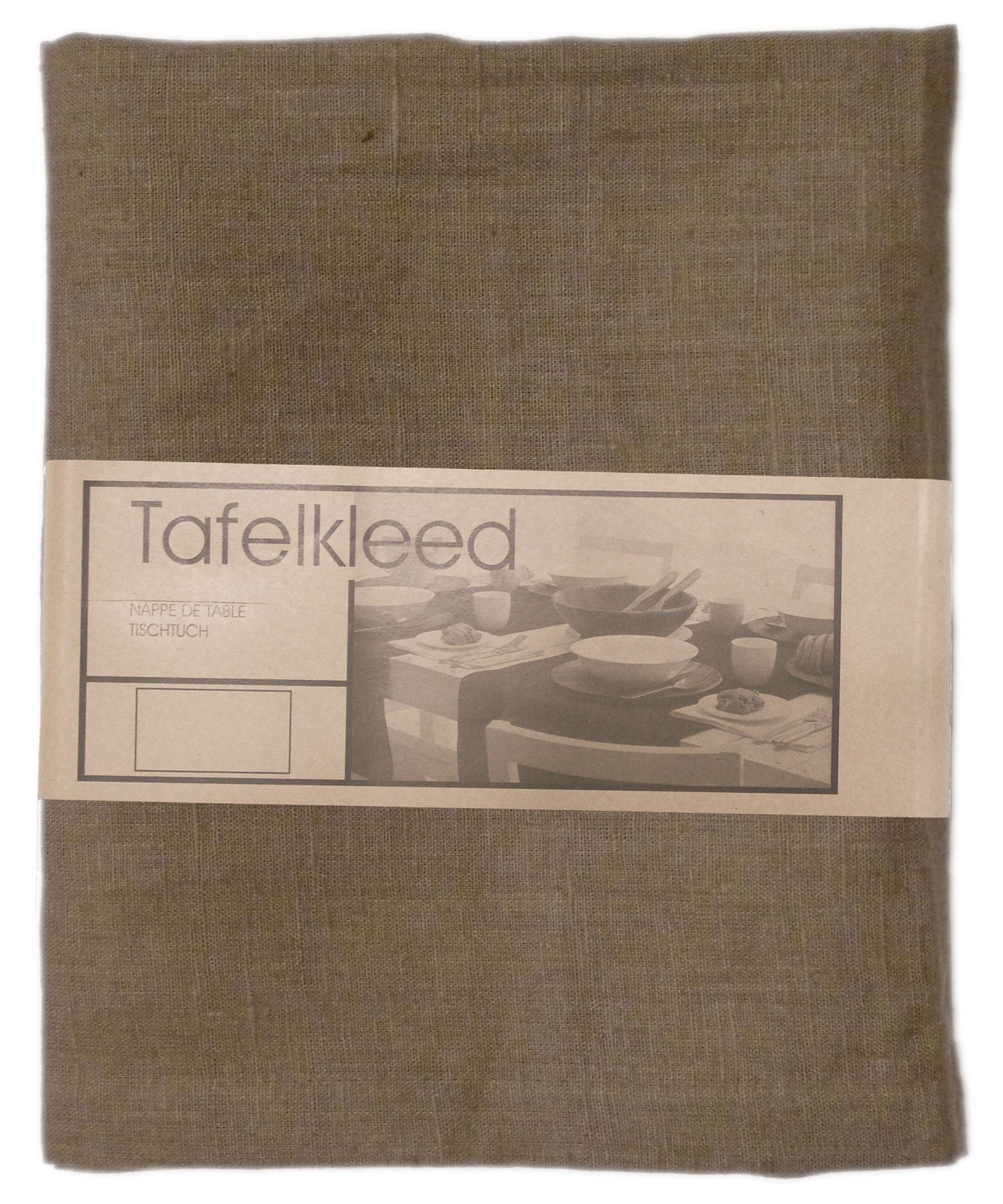 Tafelkleed Linnen 150x300cm taupe